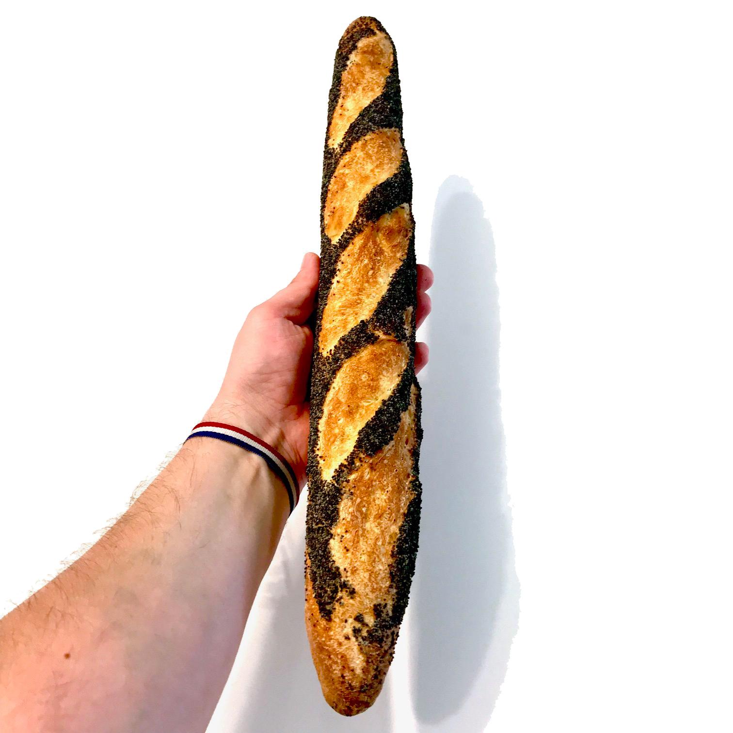 Baguette Pavot